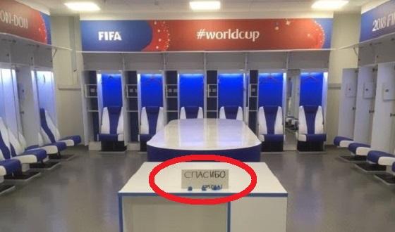 ワールドカップで敗戦した日本代表が去った後のロッカールームに世界中が称賛!!