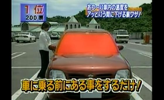 【裏ワザ】炎天下で高温になった車内を一瞬で温度を下げる方法とは!!
