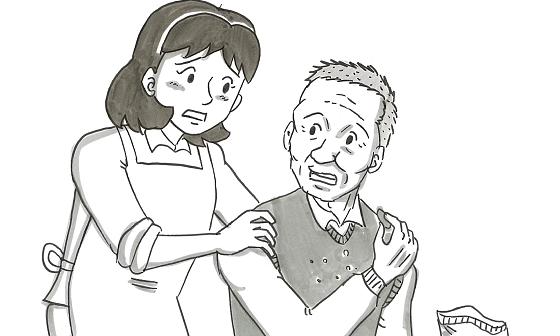 鉄拳のパラパラ漫画『お父さんは愛の人』 認知症になったお父さんが、ふと発した言葉に号泣...