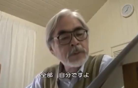 """""""宮崎駿""""が語った『頑張る』についての動画が素晴らしすぎる!!"""
