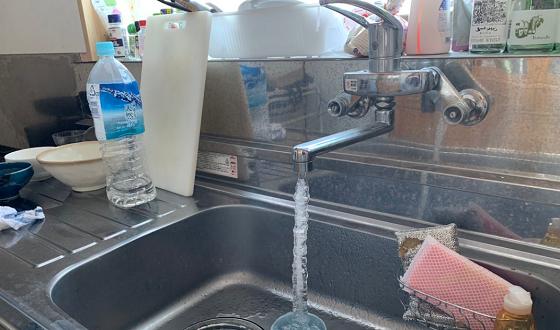【水抜き大事】「水道管が凍らないようにちょろちょろ水を出しておきましょう。」を実行した結果が...
