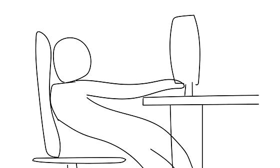 """""""こんな座り方で仕事をしてはいけない""""驚愕の理由とは!!"""