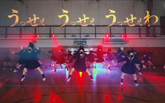 制服姿で踊る『うっせぇわ』がキレキレすごてヤバすぎる!!